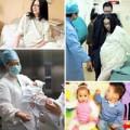 Bà bầu - Xúc động bộ ảnh sinh mổ mẹ tặng 2 con