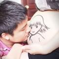 Bà bầu - Bộ ảnh mang thai sáng tạo của mẹ Việt