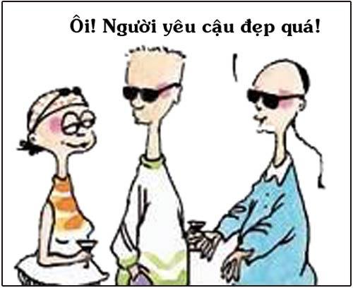 truyen tranh cuoi: lay chan dai toi nach - 1