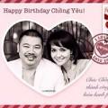 Làng sao - Mai Thu Huyền mừng sinh nhật chồng ngọt ngào
