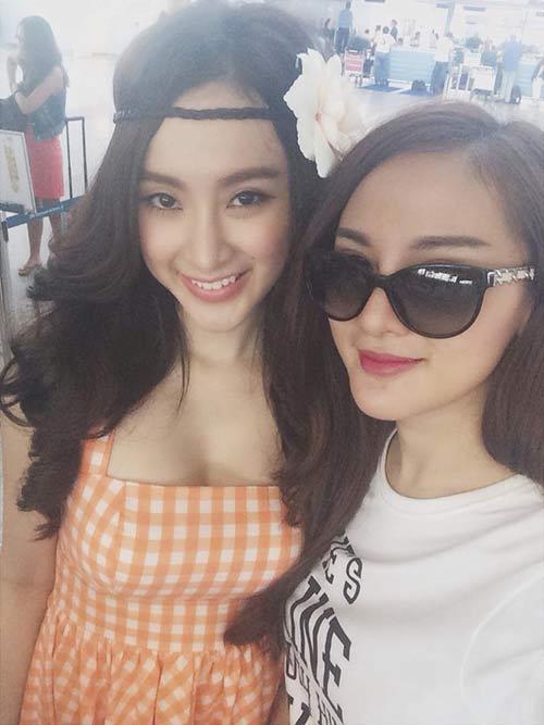 angela phuong trinh khoe chan thon dai o san bay - 3