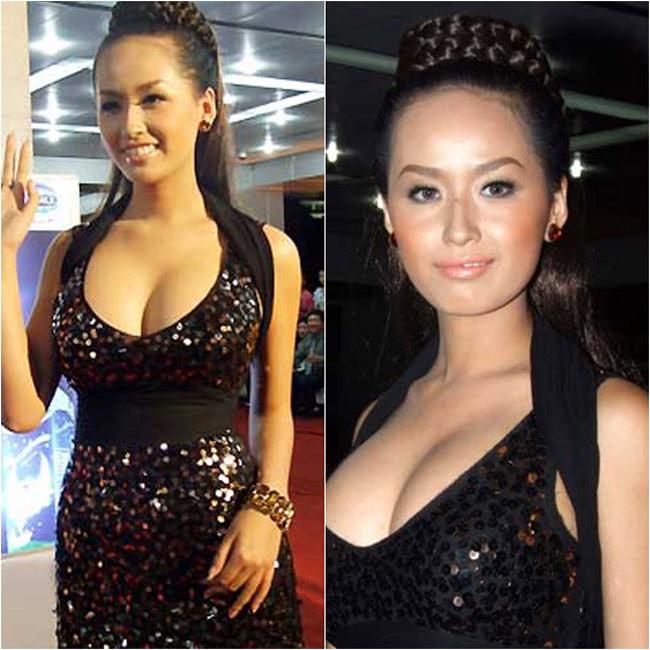Vòng 1 của Mai Phương Thúy khá thất thường. Khoảng thời gian không lâu sau khi đăng quang Hoa hậu Việt Nam 2006, cô gây sốc dư luận với vòng 1 khủng một cách bất thường.