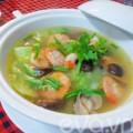 Bếp Eva - Canh mướp nấu tôm ngọt mát