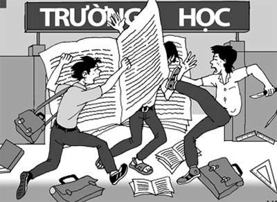bao luc hoc duong: phe phan ai? - 2
