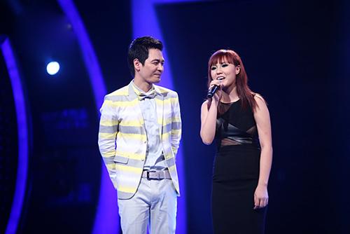 """vn idol: nhat thuy """"thoat chet"""" trong gang tac - 5"""