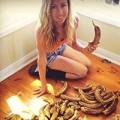 Làm đẹp - Mẹ ăn 51 quả chuối một ngày giảm liền 7kg