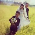 """Làng sao - Lộ ảnh cưới """"tập 2"""" của Kim Hiền"""