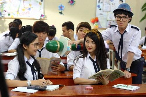 """Midu làm cô giáo """"cưng"""" Tam Triều Dâng-10"""