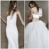 Vera Wang tung BST váy cưới 2015 siêu gợi cảm