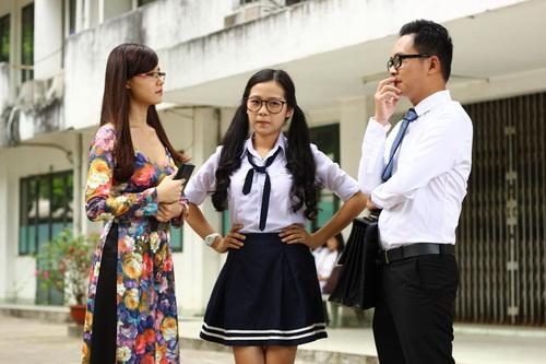 """Midu làm cô giáo """"cưng"""" Tam Triều Dâng-2"""