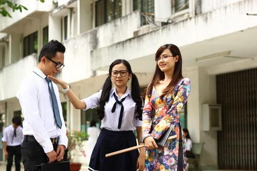 """Midu làm cô giáo """"cưng"""" Tam Triều Dâng-5"""
