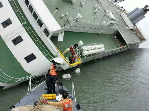 Hàn Quốc: Lật phà, 474 người mất tích trên biển - 4