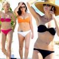 """Thời trang - Choáng: Sao U40 """"eo ót"""" nuột nà với bikini"""