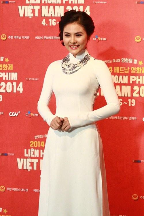 Vân Trang tươi tắn sánh vai Yeo Jin Goo-1