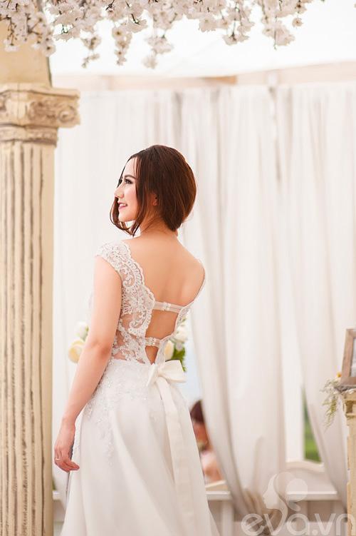 Chọn váy 'chuẩn' cho cô dâu nấm lùn - 4