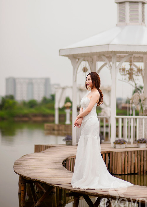 Chọn váy 'chuẩn' cho cô dâu nấm lùn - 12