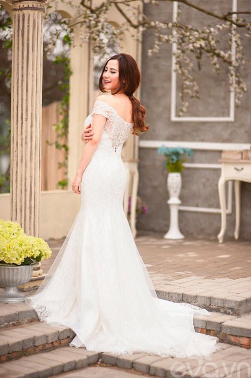 Chọn váy 'chuẩn' cho cô dâu nấm lùn - 10