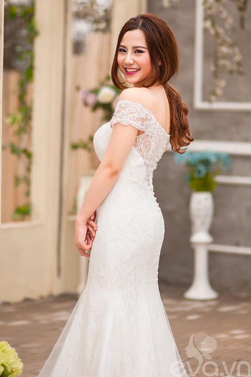 Chọn váy 'chuẩn' cho cô dâu nấm lùn - 11