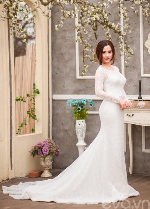 Chọn váy 'chuẩn' cho cô dâu nấm lùn - 5