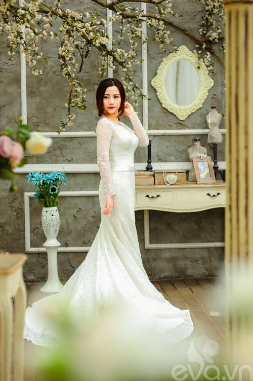 Chọn váy 'chuẩn' cho cô dâu nấm lùn - 7