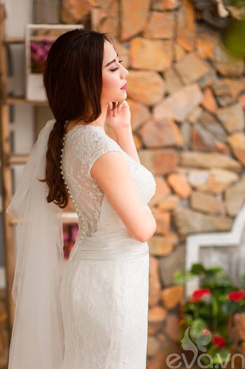 Chọn váy 'chuẩn' cho cô dâu nấm lùn - 6