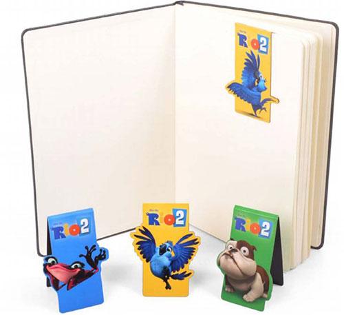 Gia đình vẹt xanh RiO gửi quà tặng độc giả Eva - 3