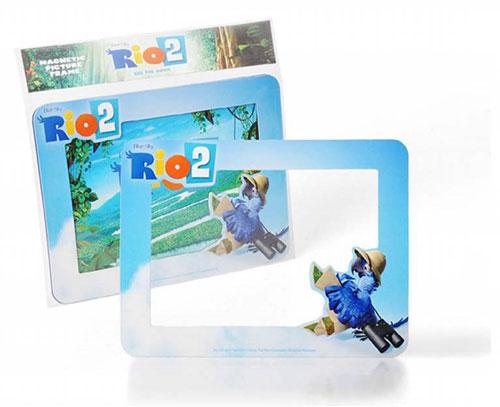 Gia đình vẹt xanh RiO gửi quà tặng độc giả Eva - 4