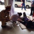 Tin tức - Hà Nội: CSGT cứu nam thanh niên ngất vì đói