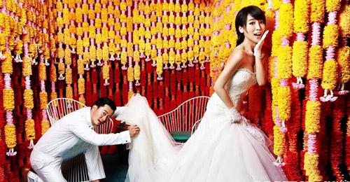 Ảnh cưới long lanh của tài tử Thiếu Lâm tự-13
