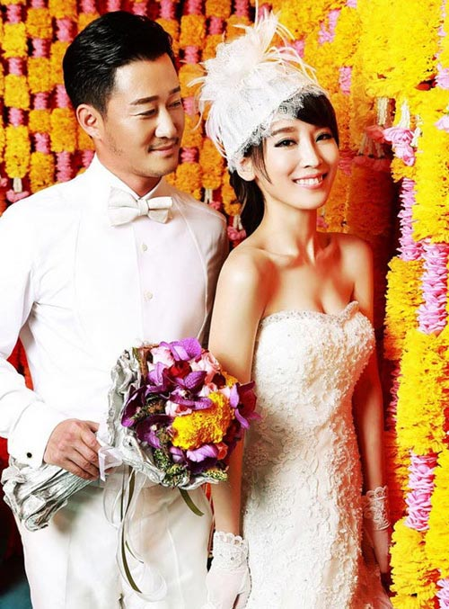 Ảnh cưới long lanh của tài tử Thiếu Lâm tự-14