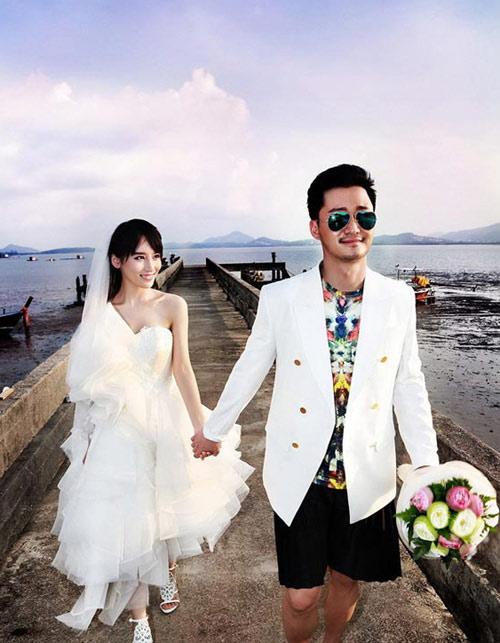 Ảnh cưới long lanh của tài tử Thiếu Lâm tự-8