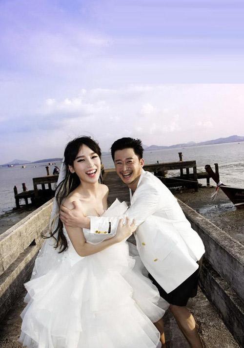 Ảnh cưới long lanh của tài tử Thiếu Lâm tự-7