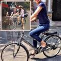 """Làng sao - Tăng Thanh Hà """"đẹp trai"""" khi đi xe đạp"""