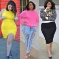 Thời trang - Choáng với nàng mẫu 73kg mặc cực chất