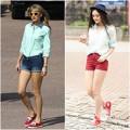 Thời trang - Á Hậu Việt 'học lỏm' thời trang của Taylor Swift