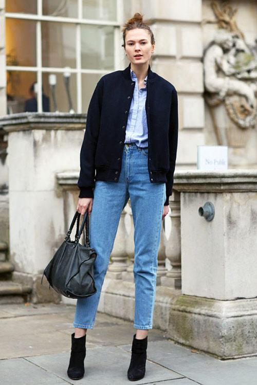 mac quan jeans cua me, ban co dam? - 3