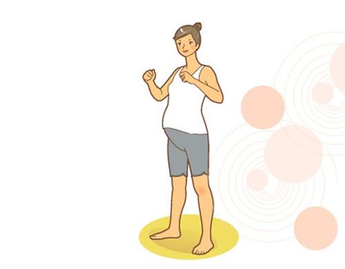 Bài thể dục cực dễ lại tốt cho bà bầu - 10