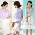 Thời trang - Hè siêu thanh lịch với chân váy trắng