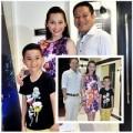 Làng sao - Kim Hiền cùng chồng sắp cưới đi xem phim