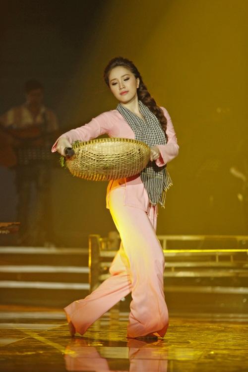 "cao thai son ""vuot mat"" bao thy nho hat live tot - 13"
