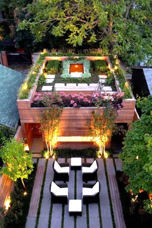 Trồng vườn trên mái làm mát nhà phố-3