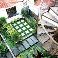 Trồng vườn trên mái làm mát nhà phố-8