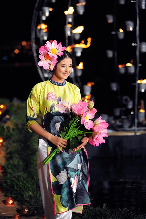 "ngoc han xinh nhu hoa sau su co ""bi mang"" - 5"