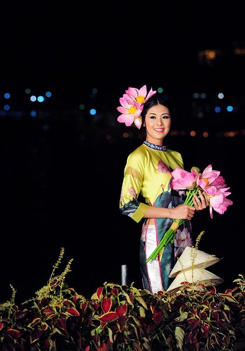 "ngoc han xinh nhu hoa sau su co ""bi mang"" - 9"