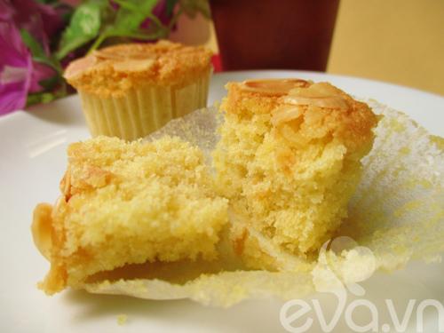 cupcake hanh nhan vani thom ngon - 9