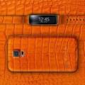 Eva Sành điệu - Samsung sắp bán ra Galaxy S5 và Gear Fit vỏ da cá sấu