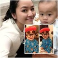 Làng sao - Ngắm con trai đáng yêu của Phan Thị Lý