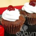 Bếp Eva - Cupcake vị coca thơm ngon, lạ miệng