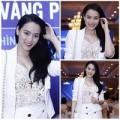 """Làng sao - Trang Nhung """"lăng-xê"""" vòng 1 ý nhị"""