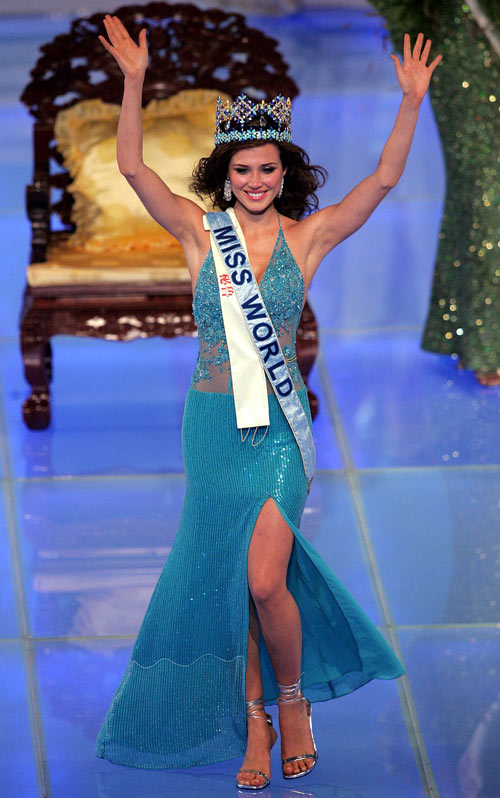 di tim gam mau may man cua cac miss world - 1